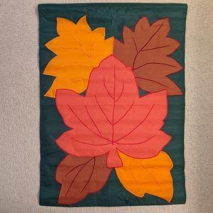 Autumn Leaves Large Outdoor Garden Banner Flag
